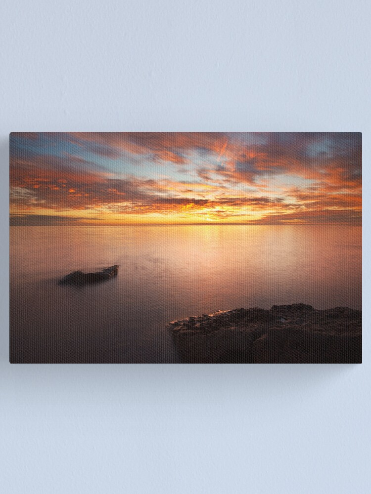 Alternate view of Colourful Interlude Canvas Print