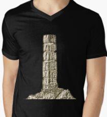 Selinos Mens V-Neck T-Shirt
