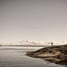 Contemplation at Coles Bay by Kelly McGill