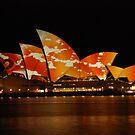 opera house illuminated by steveault