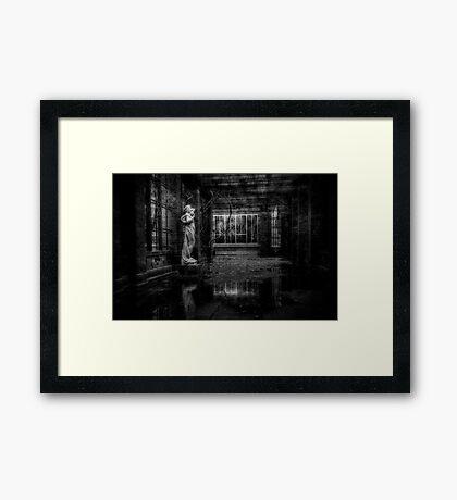 Reflective Framed Print