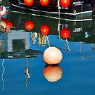 Harbour Reflections - Lyme Regis by Susie Peek