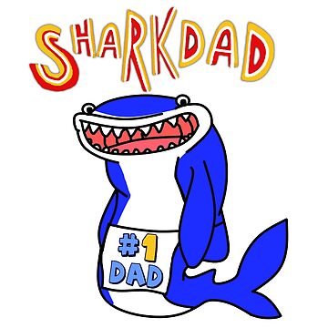 Shark Dad by Georgia-Hewitt