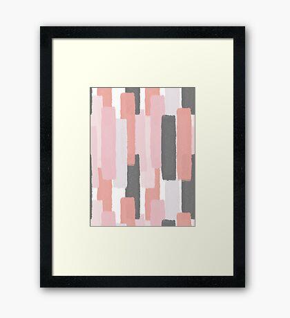 Rising #redbubble #abstractart Framed Print