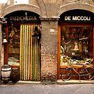 Bike at shopfront - Siena, Italy by Dave Morrison