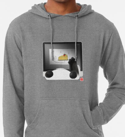 Right Cake, Wrong Time, Wrong Place Lightweight Hoodie