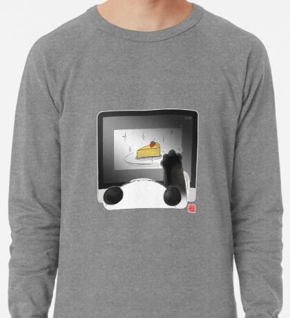 Right Cake, Wrong Time, Wrong Place Lightweight Sweatshirt