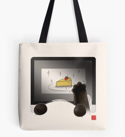 Right Cake, Wrong Time, Wrong Place Tote Bag