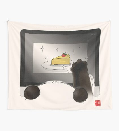 Right Cake, Wrong Time, Wrong Place Wall Tapestry