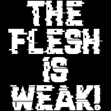 Flesh is Weak - Marines Battle Cry by gaming-guy