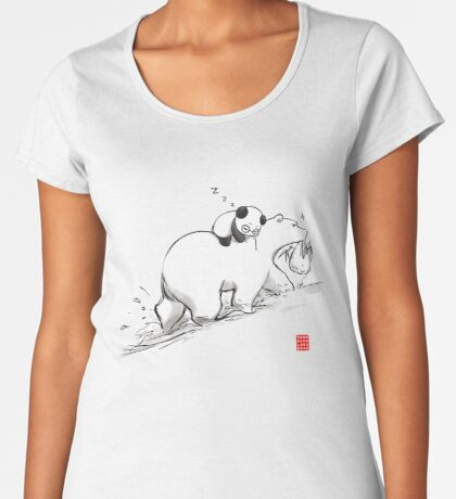 Are we bearly there yet? Premium Scoop T-Shirt