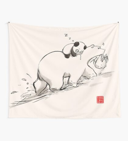 Are we bearly there yet? Wall Tapestry