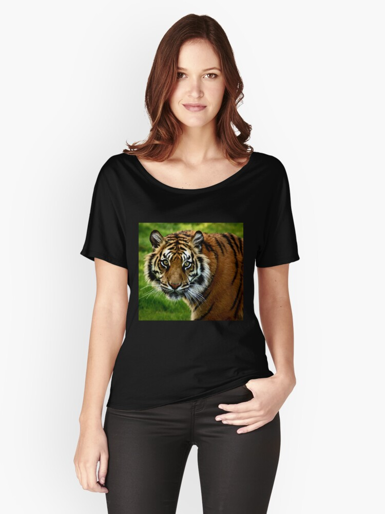 ~Sumatran Tiger! Women's Relaxed Fit T-Shirt Front