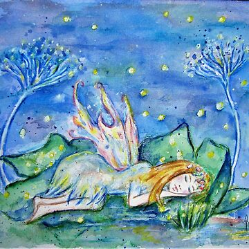 Fairy at Rest by MyWeb