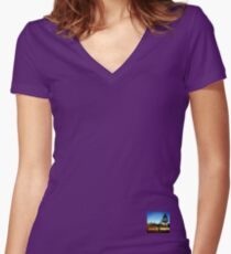 Elwood Kombi II - Coastal Collection Women's Fitted V-Neck T-Shirt