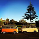 Elwood Kombi II - Coastal Collection by JHP Unique and Beautiful Images