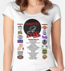Mouse Rat Live Tour Edition Women's Fitted Scoop T-Shirt