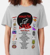 Camiseta ajustada Mouse Rat Live Tour Edition
