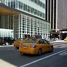 New York Taxi Cabs by clarebearhh