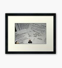 XxxTentacion Memories Love You Framed Print