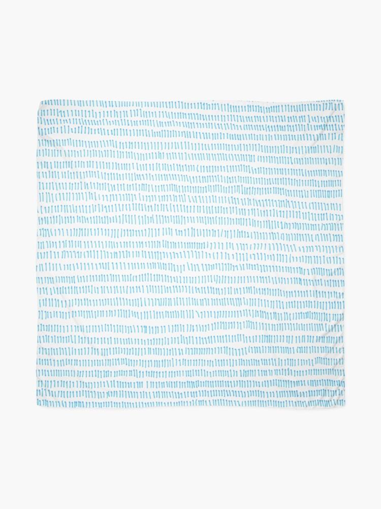 Alternate view of Blue grass - a handmade pattern Scarf