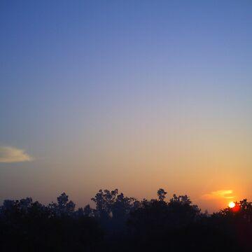 A Golden Sunrise... by HansBellani