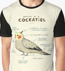 Anatomie eines Nymphensittichs Grafik T-Shirt