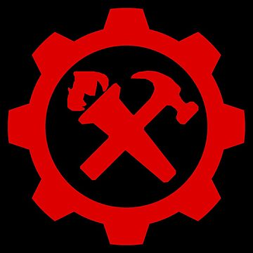 Syndicalism - Red on Black by Strigon67