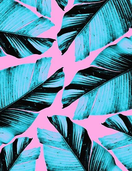 Tropische Bananenblätter Vibes # 3 #foliage #decor #art von anitabellajantz