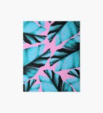 Tropische Bananenblätter Vibes # 3 #foliage #decor #art Galeriedruck