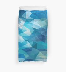 Abstract Geometric Polygon Sea Duvet Cover