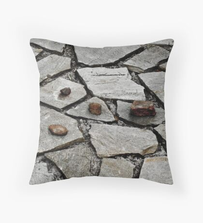 Pattern, stones Throw Pillow