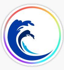 Democratic Blue Wave Support  Sticker
