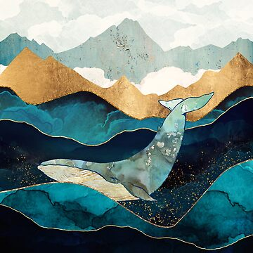Blue Whale by spacefrogdesign