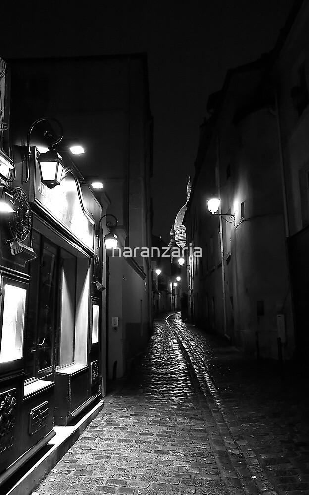 Paris in black and white by naranzaria