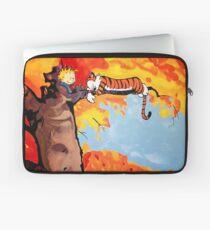 Calvin and Hobbes Autumn Laptop Sleeve