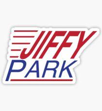 Jiffy Park Sticker