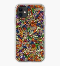 Effervescence Caribbean by Amelia Caruso for Robert Kaufman iPhone Case
