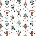 «Fiesta de Robots» de Retrocrix