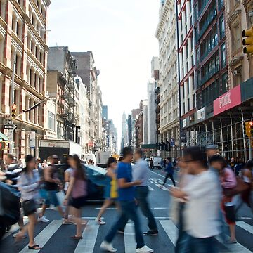 SoHo New York City Street by Claireandrewss