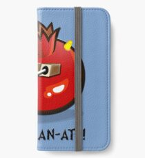 DALEK POMEGRAN-ATE! iPhone Wallet/Case/Skin