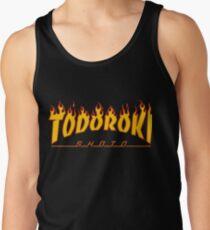 Camiseta de tirantes Todoroki Shoto Thrasher (Fuego)