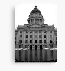 The Capital Canvas Print