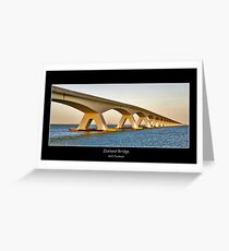 Zeeland Bridge Greeting Card