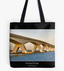 Zeeland Bridge Tote Bag