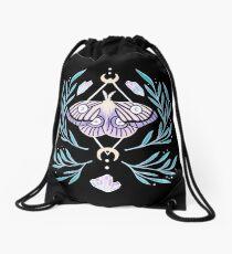 Moon Moth 01 Drawstring Bag