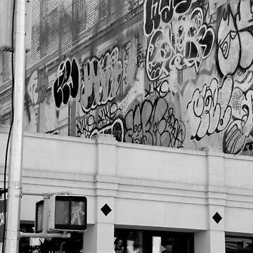 SoHo Building Graffiti by Claireandrewss