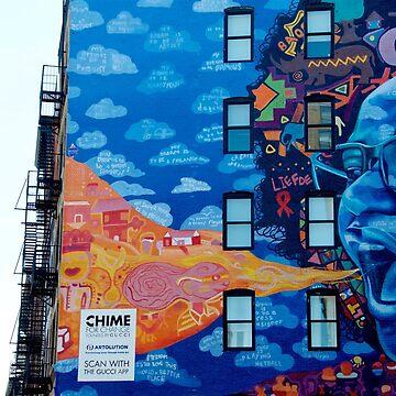 SoHo New York City Building Art Photo by Claireandrewss