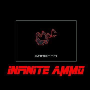 Metal Gear Solid Bandana Infinite Ammo by hailtothethief