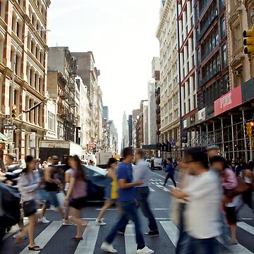 Soho New York City Street Crossing Photo by Claireandrewss